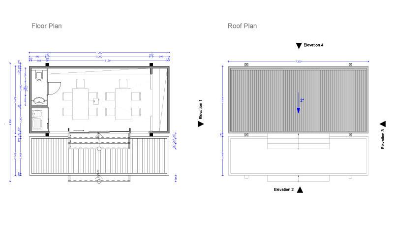 Floor Amp Roof Plan