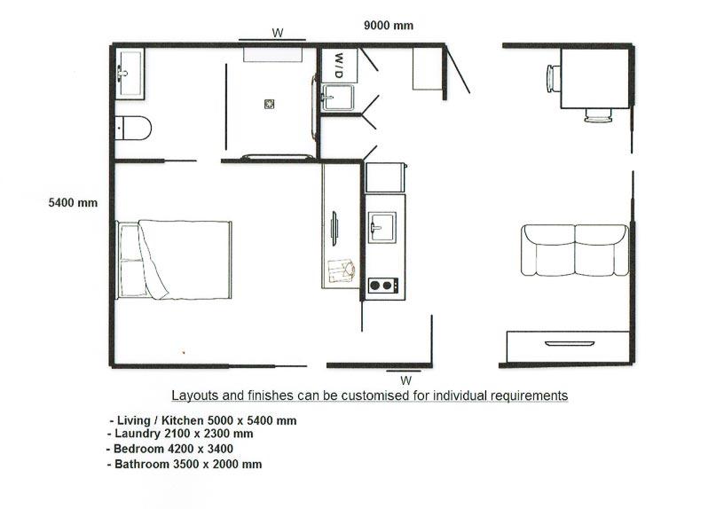 Aged Care Floor Plan Design