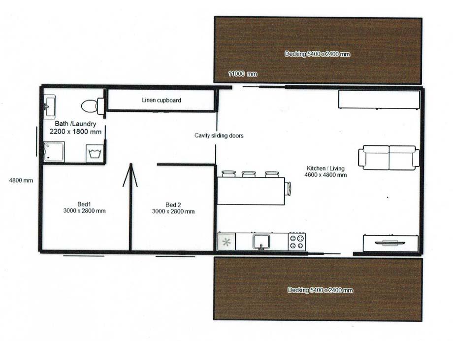 Boat House Floor Plan C