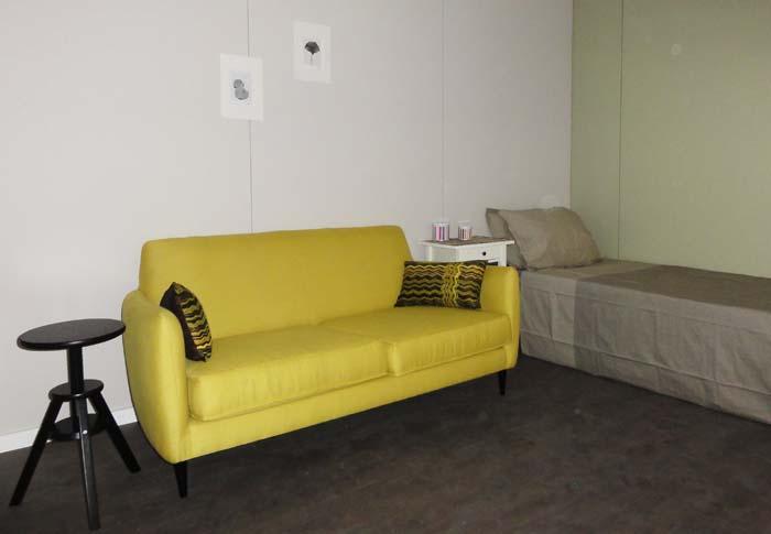 Crescent Studio bed